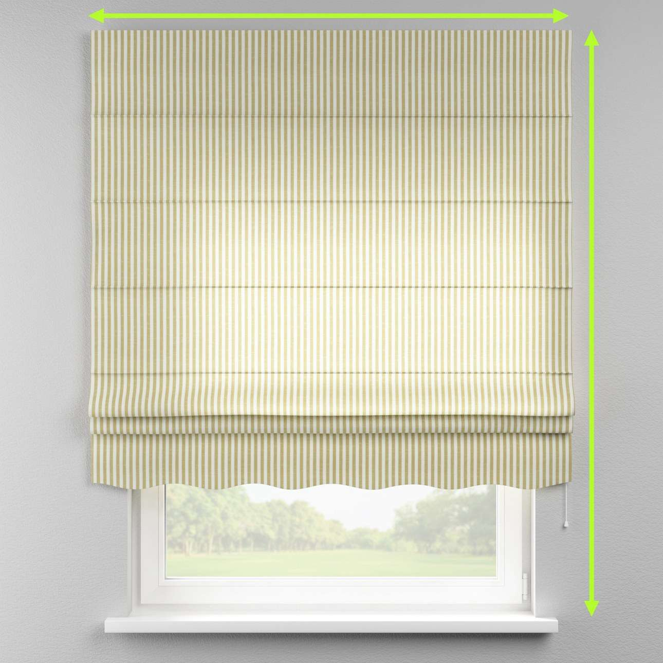 Florence roman blind  in collection Cardiff, fabric: 136-21