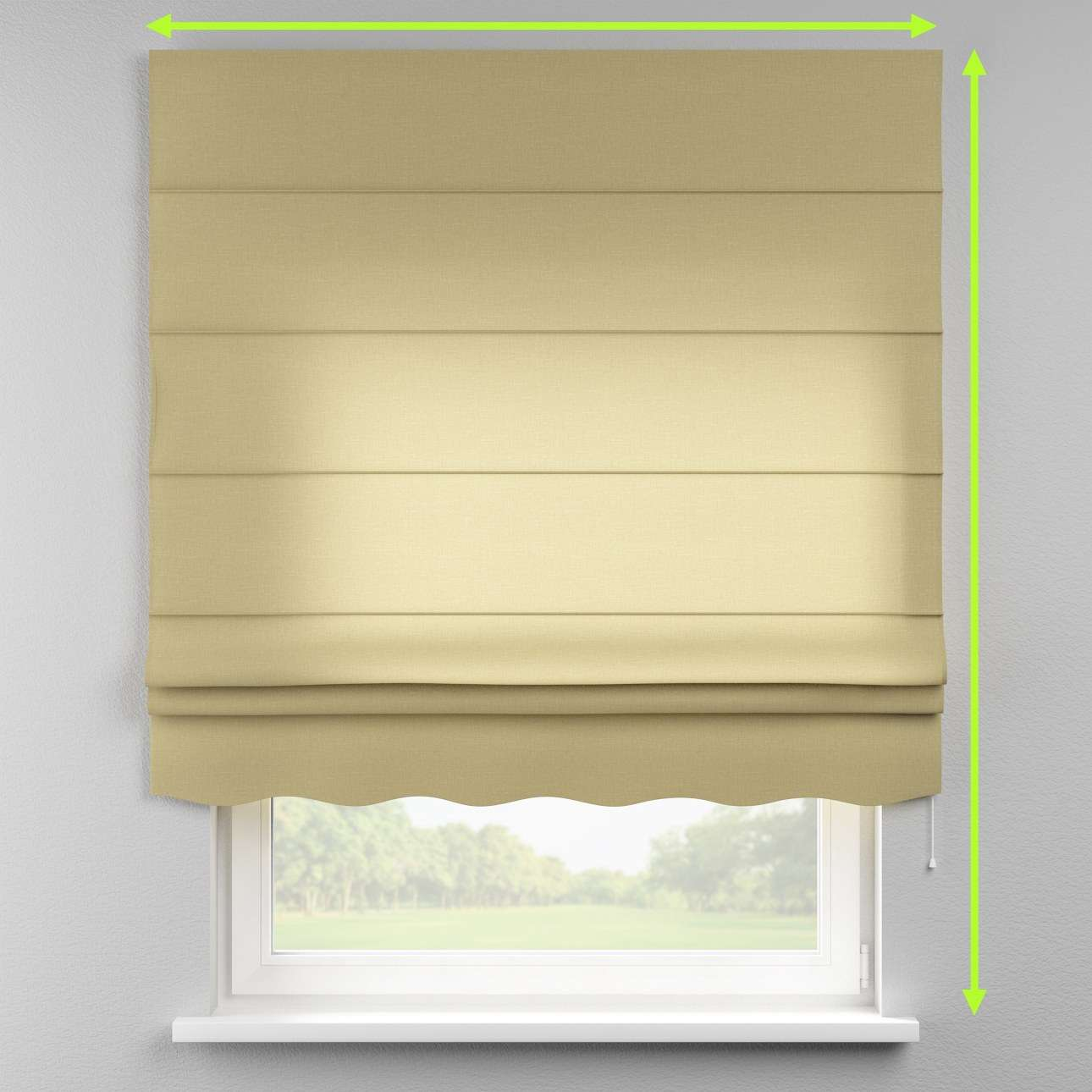 Florence roman blind  in collection Cardiff, fabric: 136-22