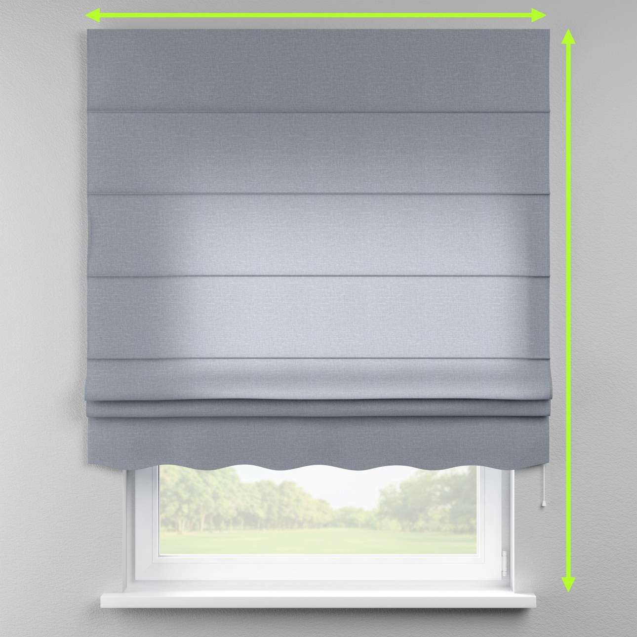 Florence roman blind  in collection Cardiff, fabric: 136-26
