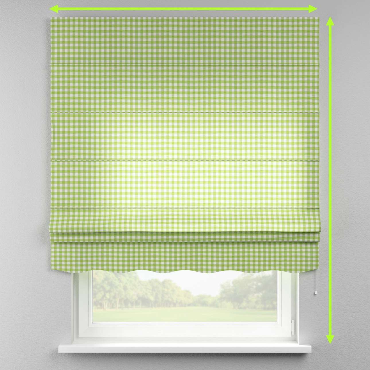 Florence roman blind  in collection Quadro, fabric: 136-34