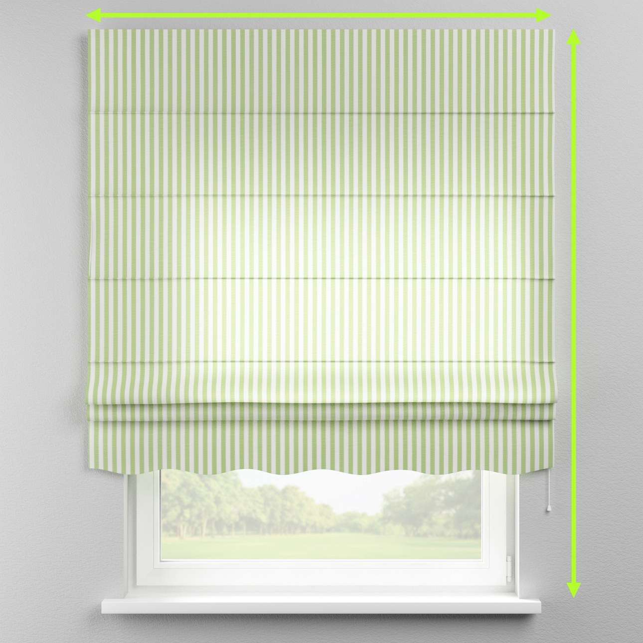 Florence roman blind  in collection Quadro, fabric: 136-35