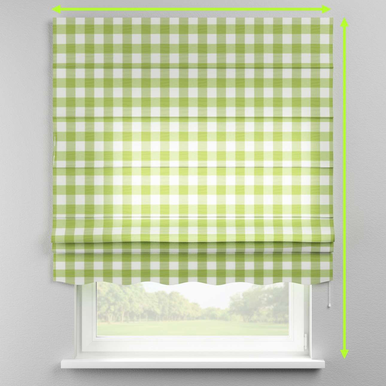 Florence roman blind  in collection Quadro, fabric: 136-36