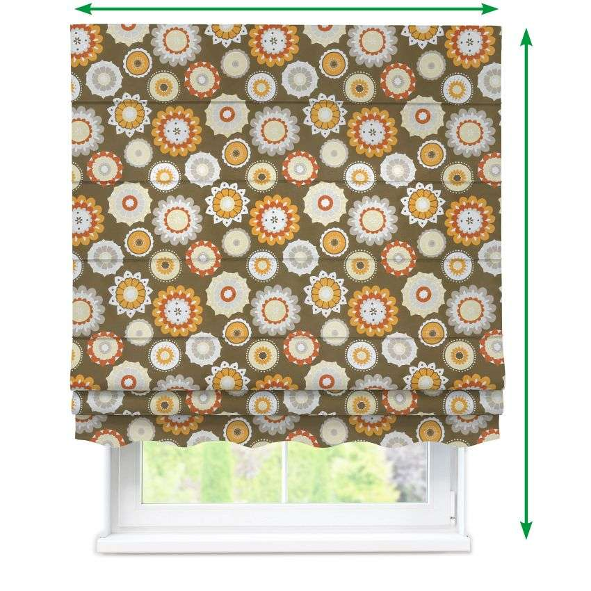 Florence roman blind  in collection Fleur , fabric: 137-26