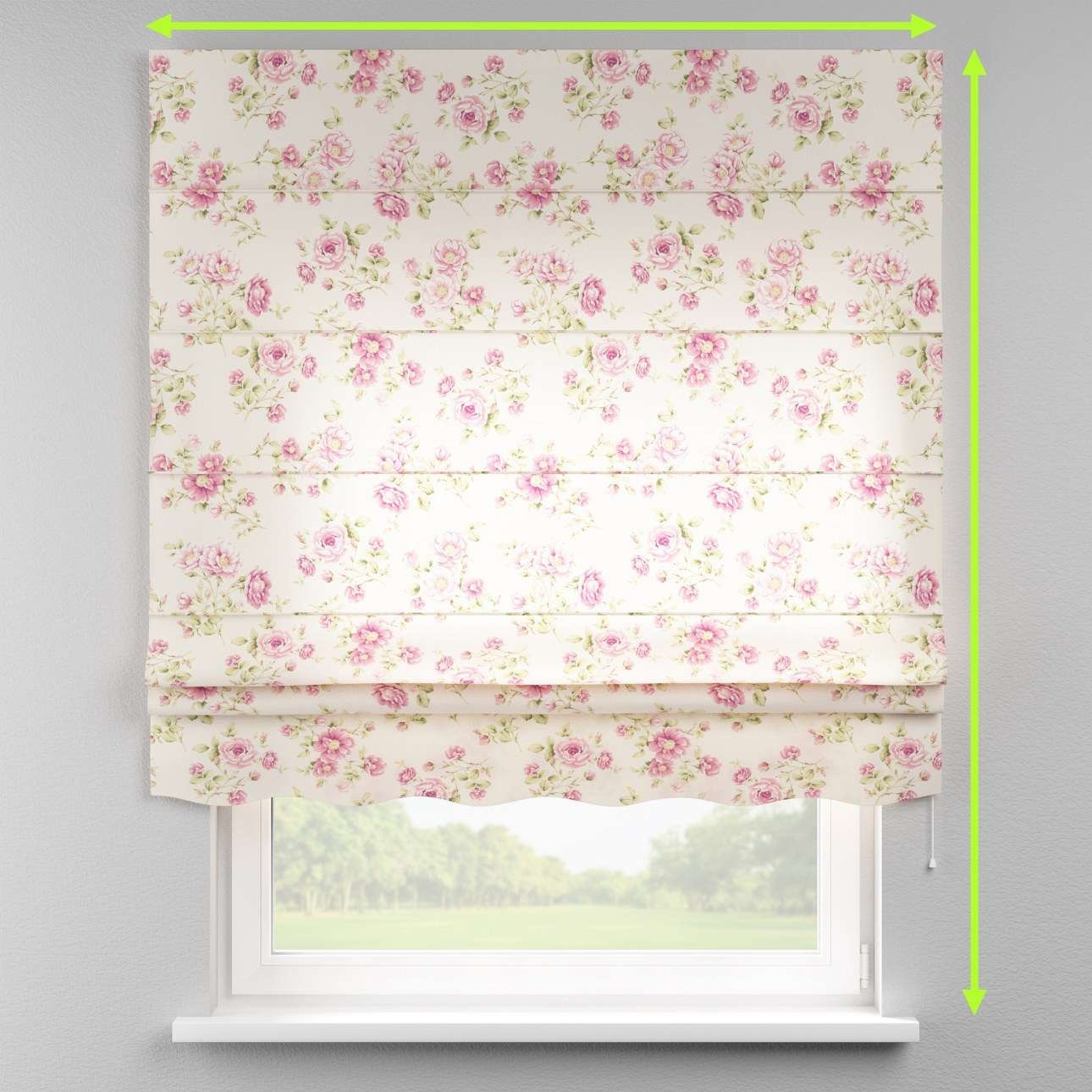 Florence roman blind  in collection Ashley, fabric: 137-43