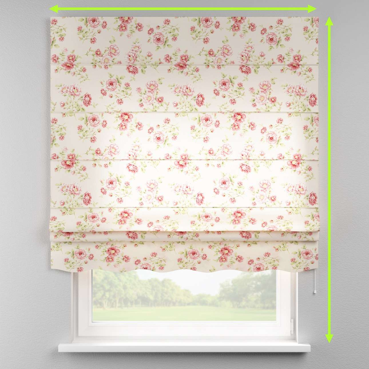Florence roman blind  in collection Ashley, fabric: 137-47