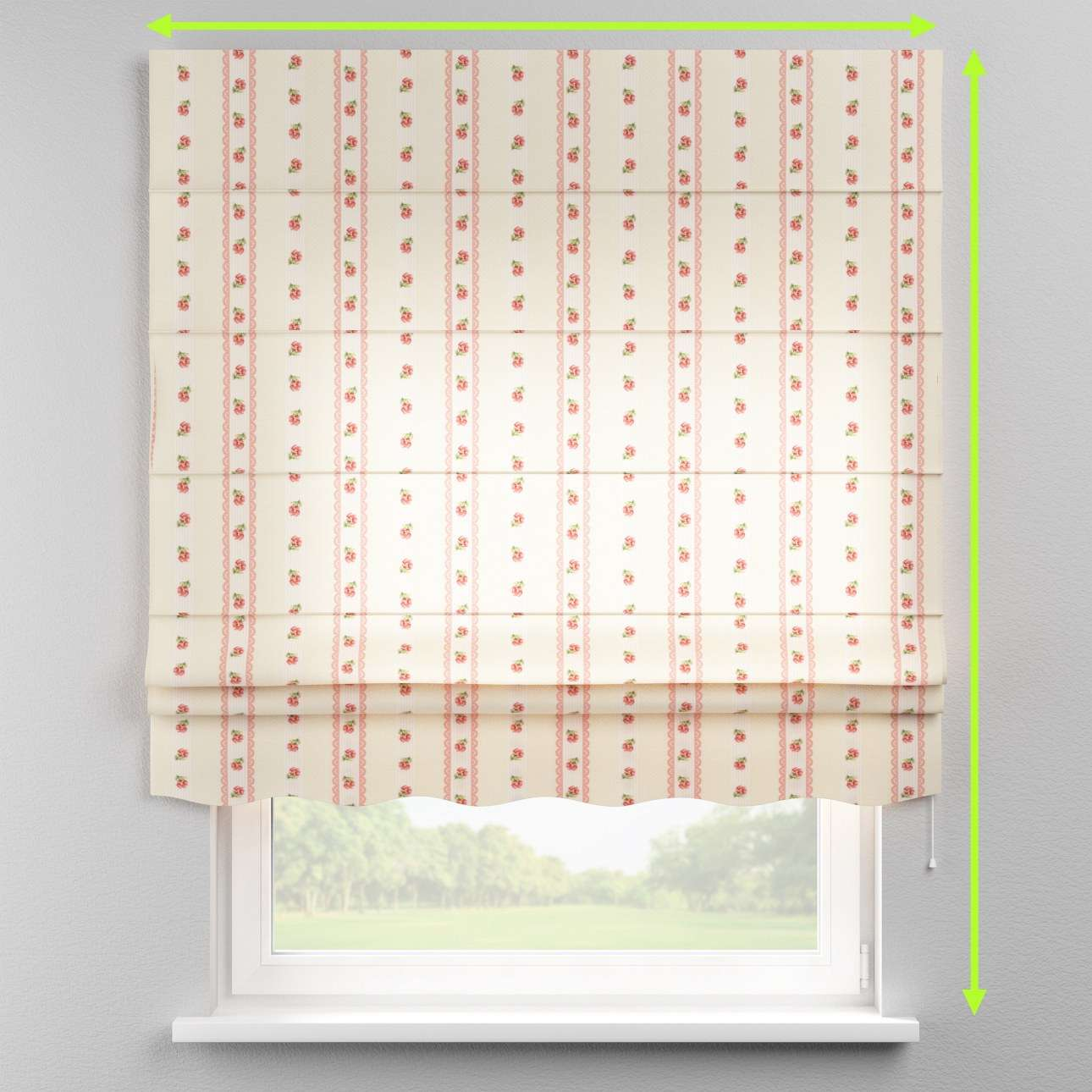 Florence roman blind  in collection Ashley, fabric: 137-48