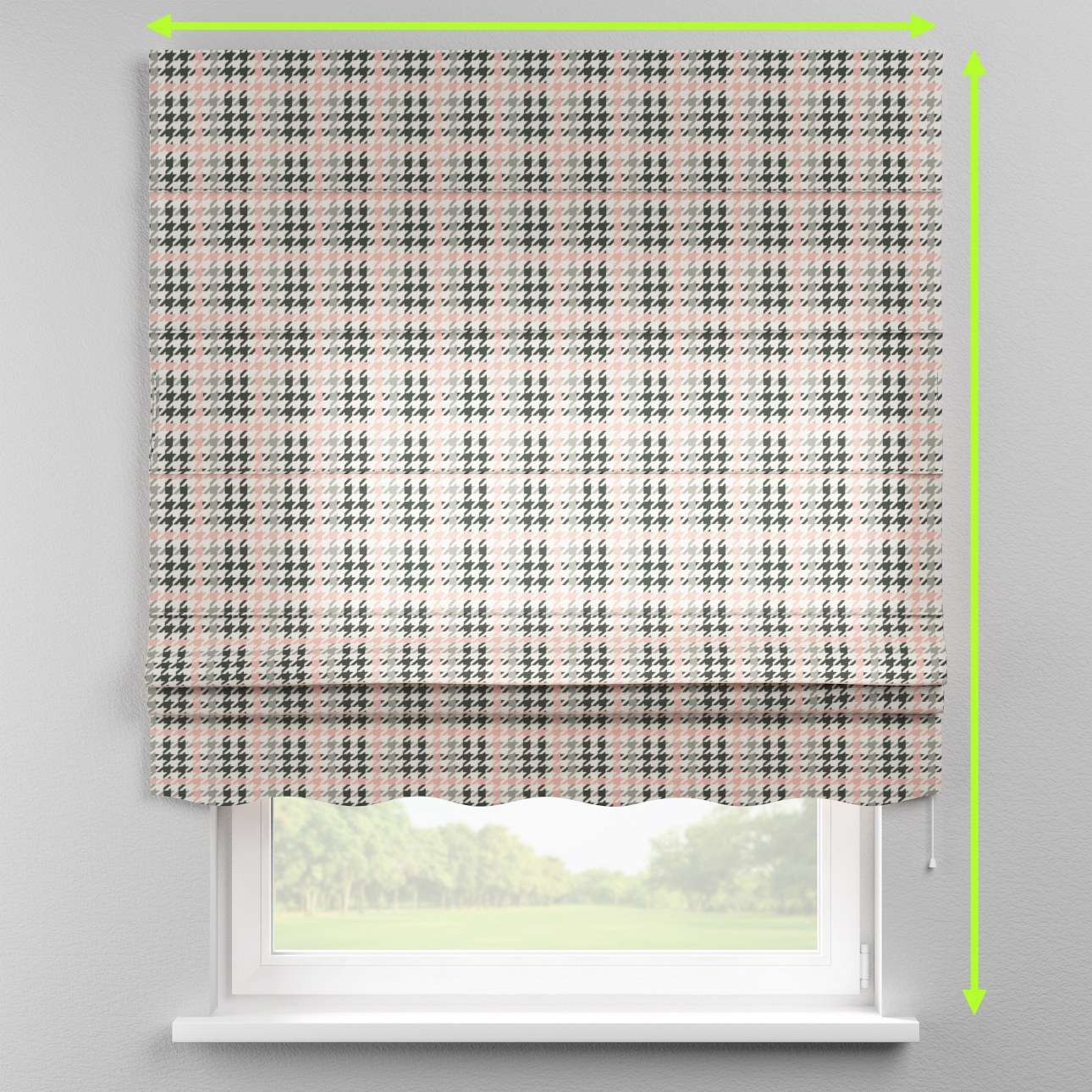 Florence roman blind  in collection Brooklyn, fabric: 137-75