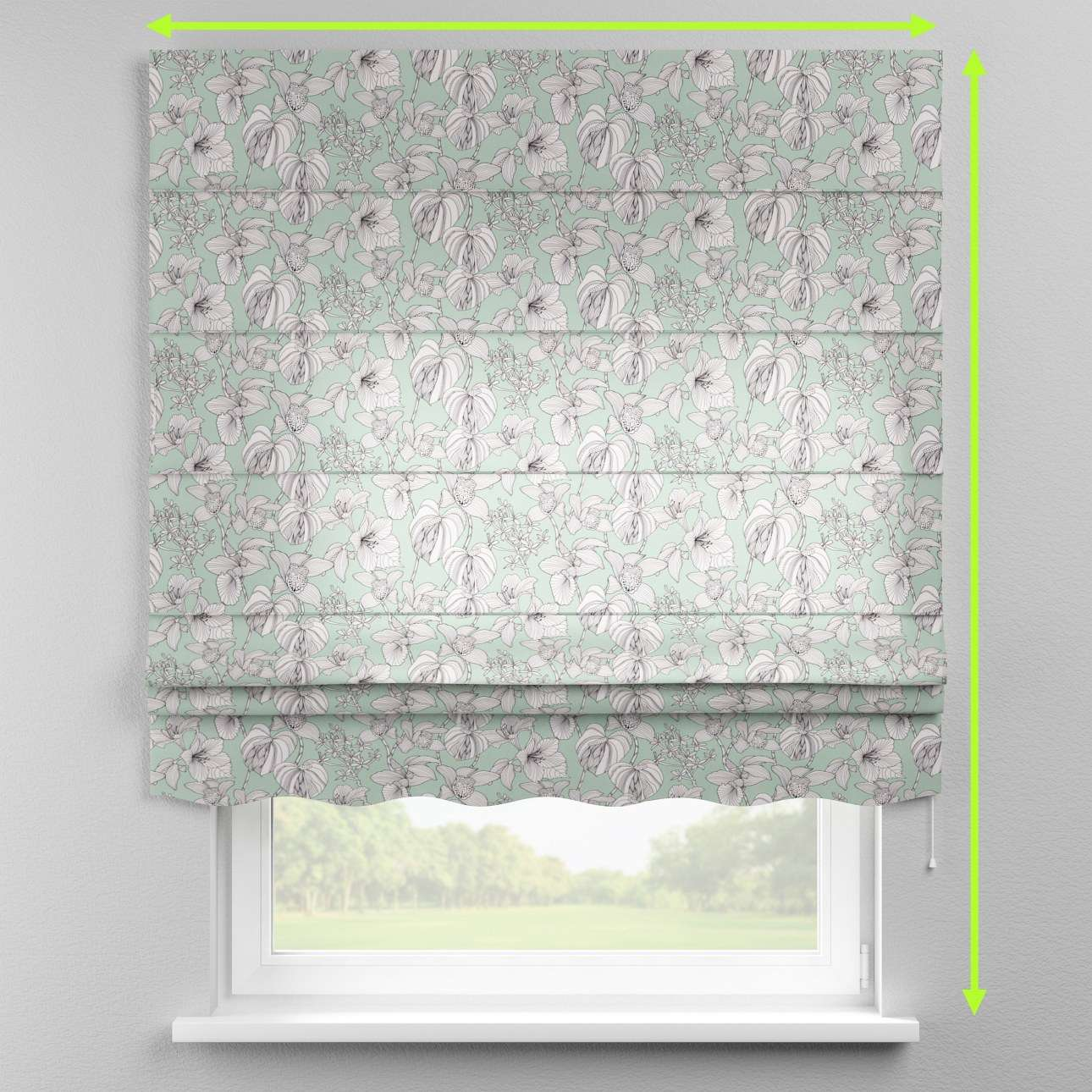 Florence roman blind  in collection Brooklyn, fabric: 137-76