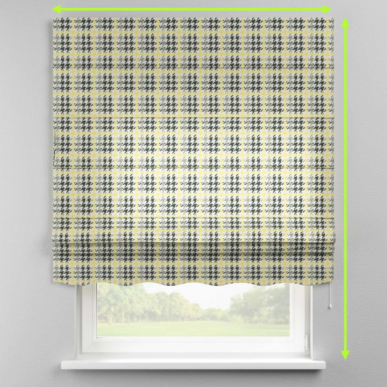 Florence roman blind  in collection Brooklyn, fabric: 137-79
