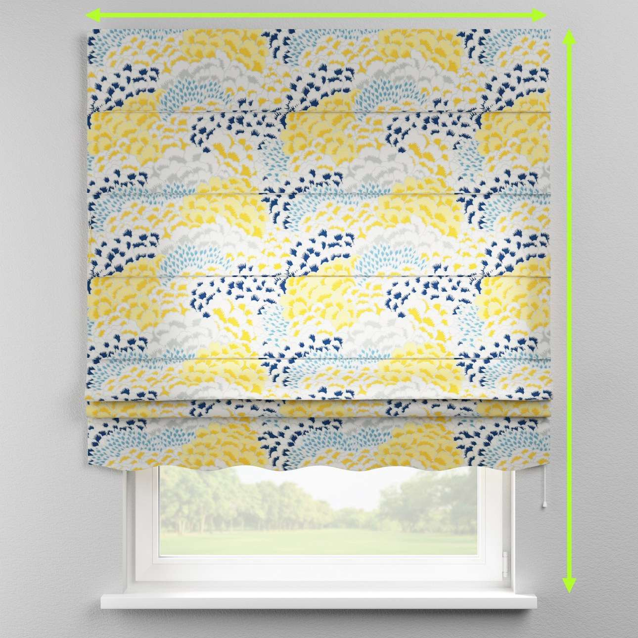 Florence roman blind  in collection Brooklyn, fabric: 137-86