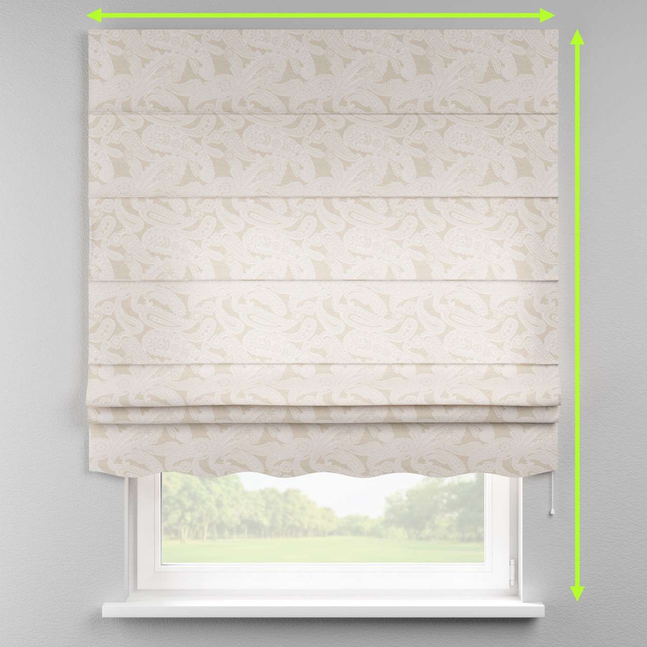 Florence roman blind  in collection Rustica, fabric: 138-10