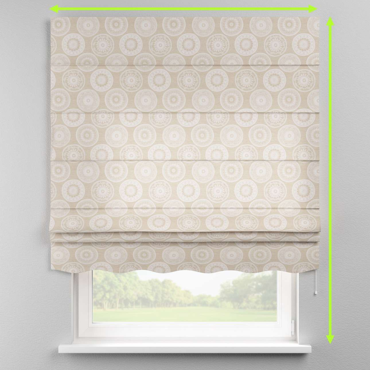 Florence roman blind  in collection Rustica, fabric: 138-11