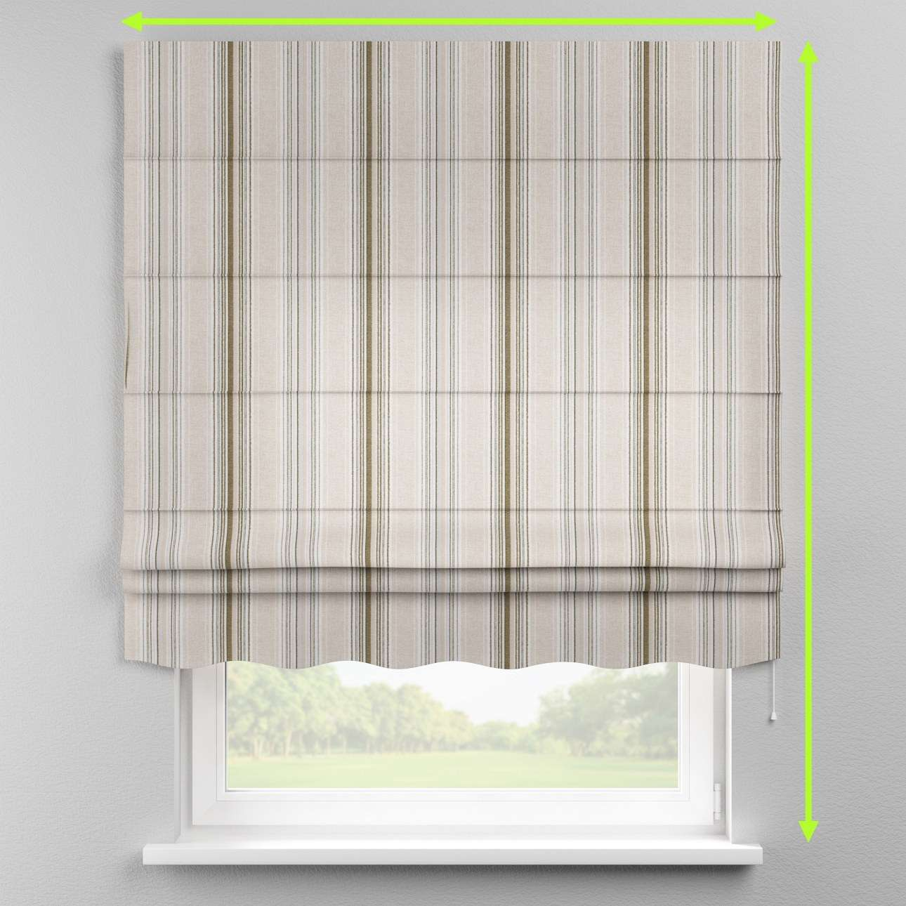 Florence roman blind  in collection Rustica, fabric: 138-13