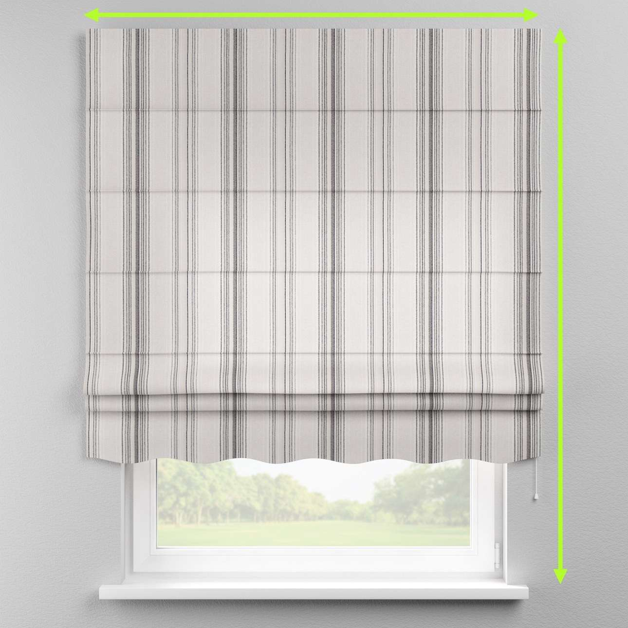 Florence roman blind  in collection Rustica, fabric: 138-15