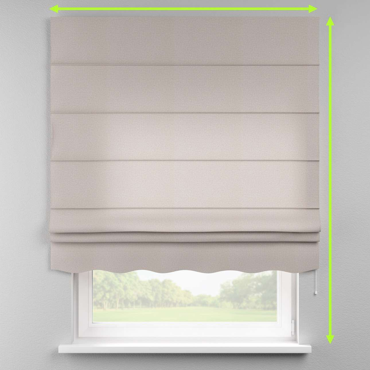 Florence roman blind  in collection Rustica, fabric: 138-22