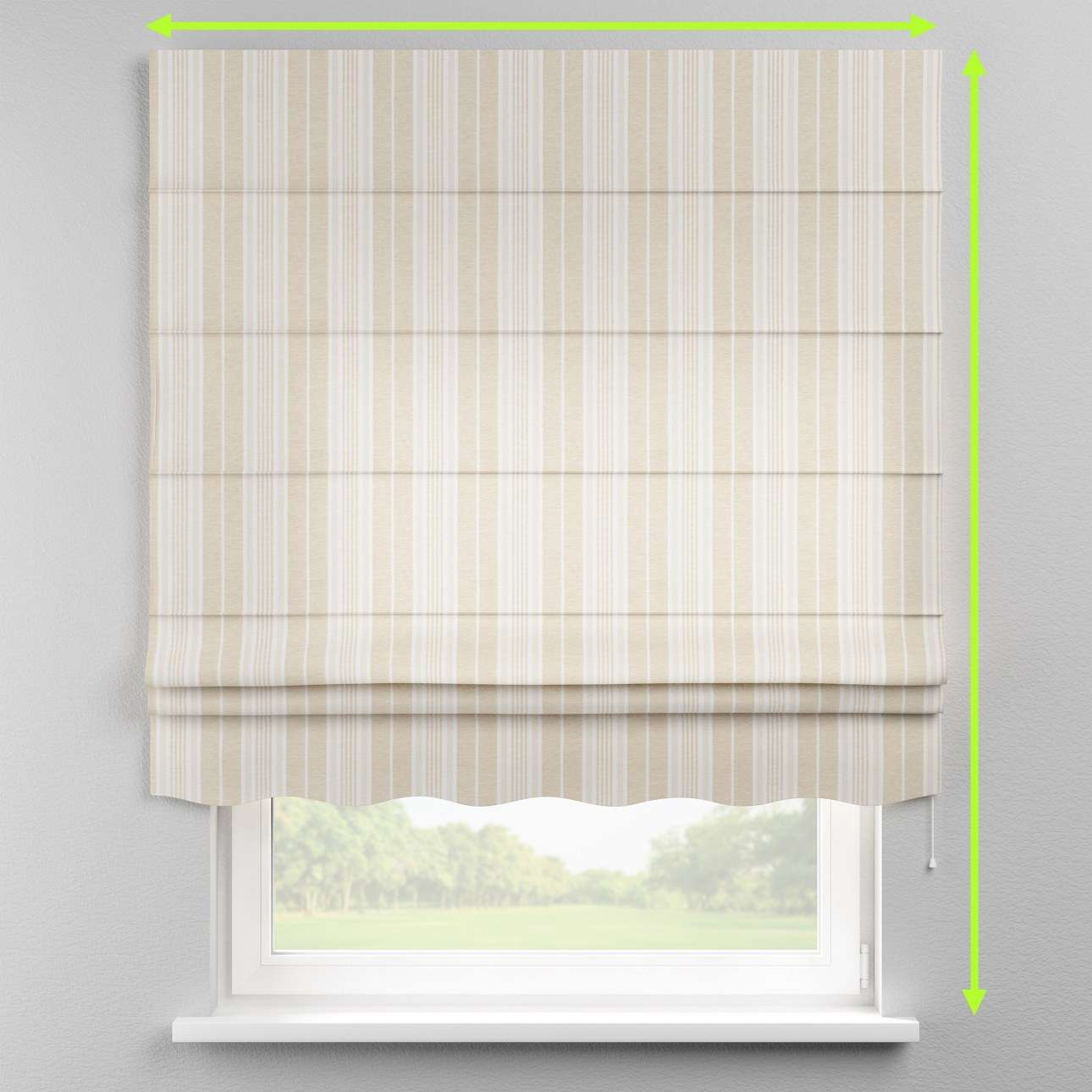 Florence roman blind  in collection Rustica, fabric: 138-24