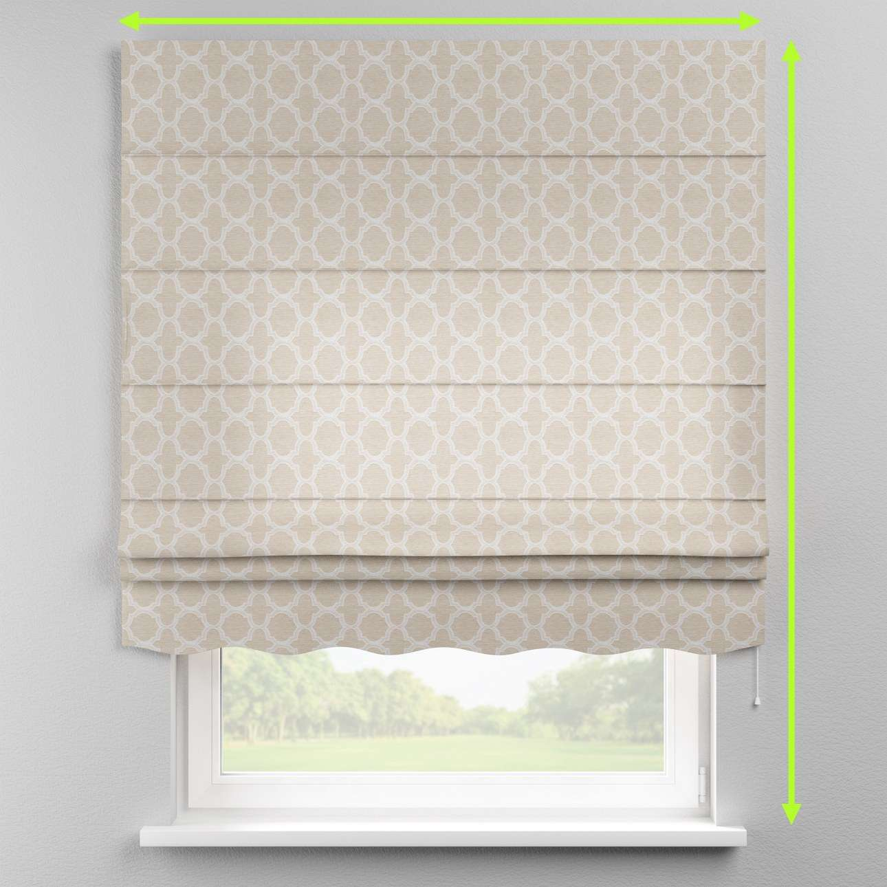 Florence roman blind  in collection Rustica, fabric: 138-25