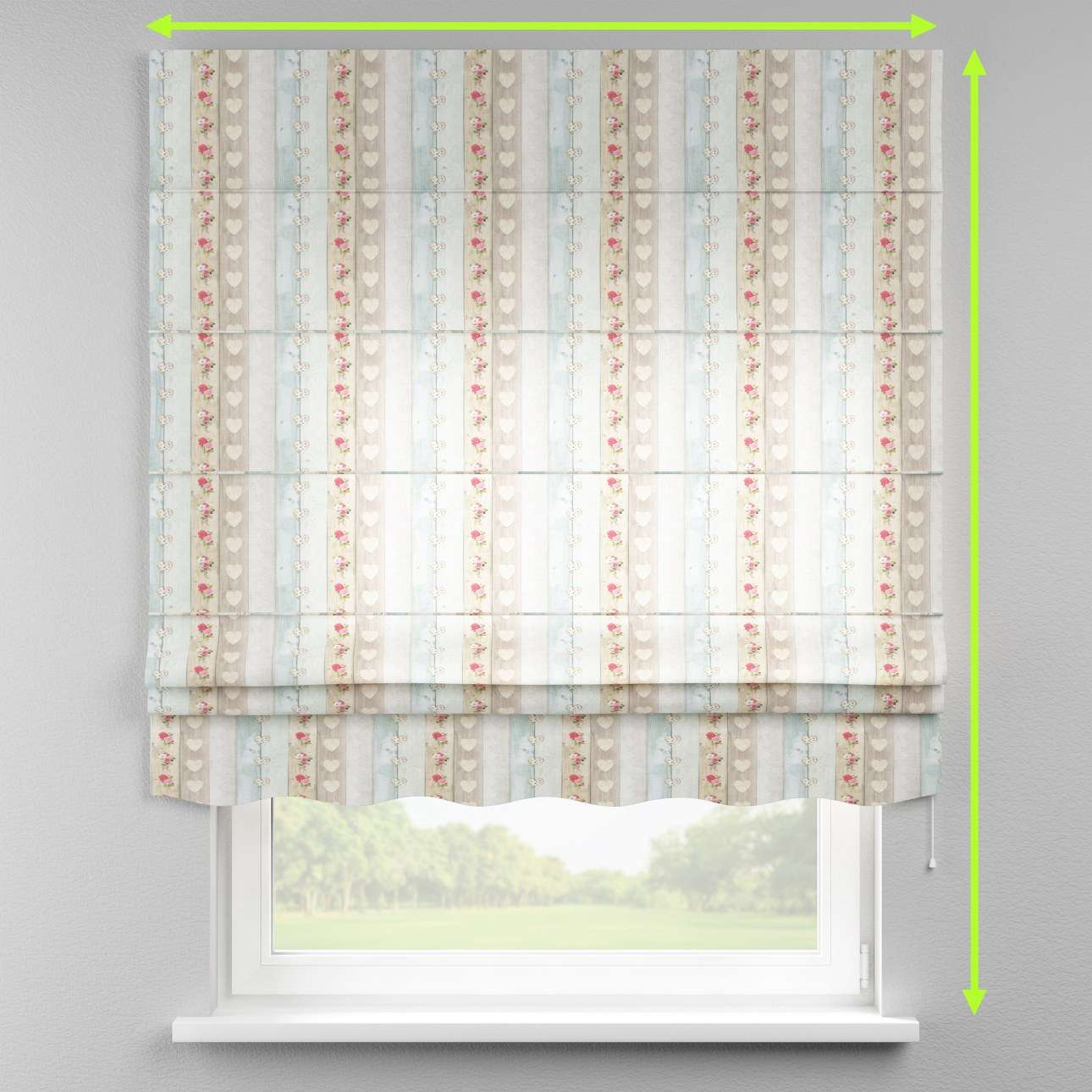 Florence roman blind  in collection Ashley, fabric: 140-20