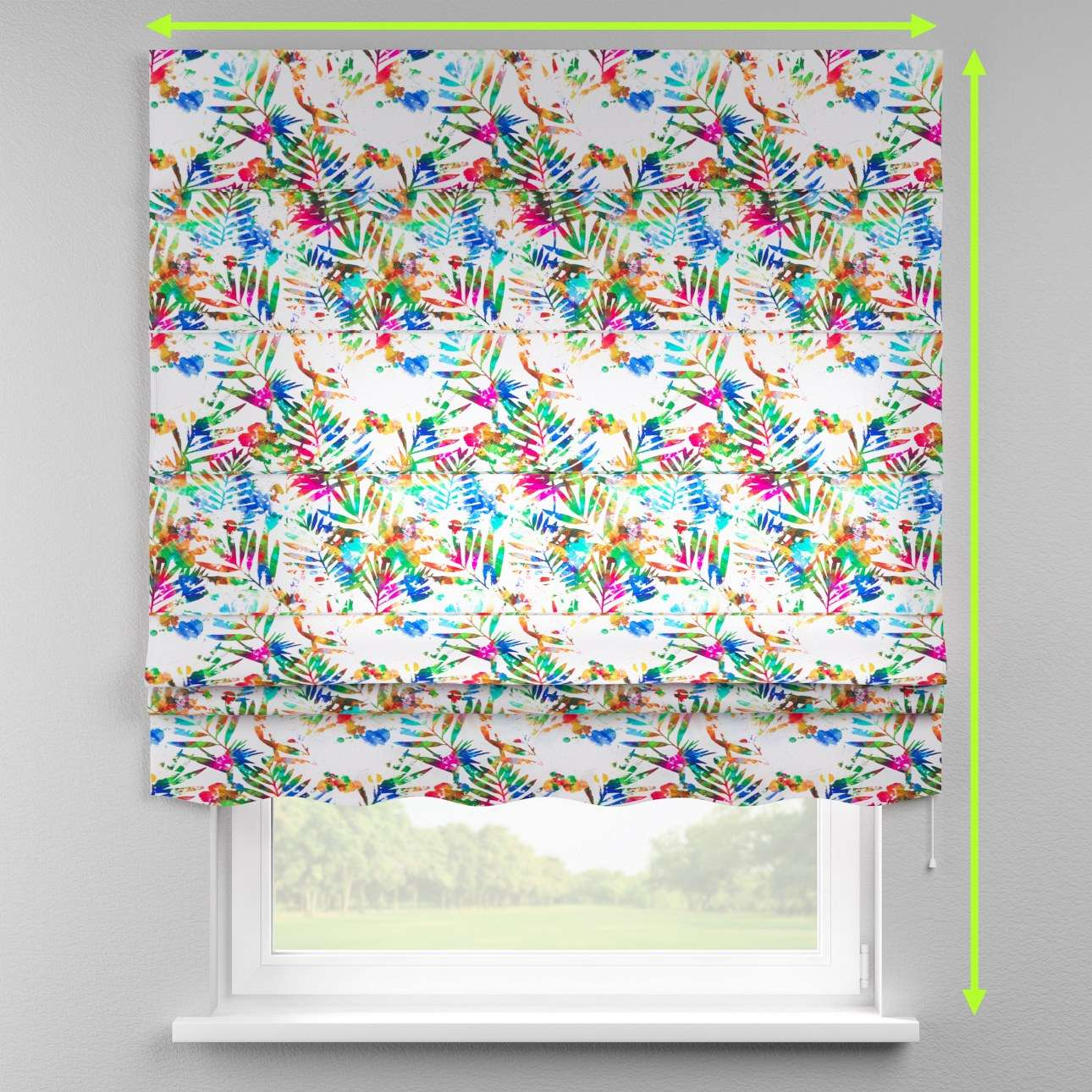 Florence roman blind  in collection New Art, fabric: 140-22