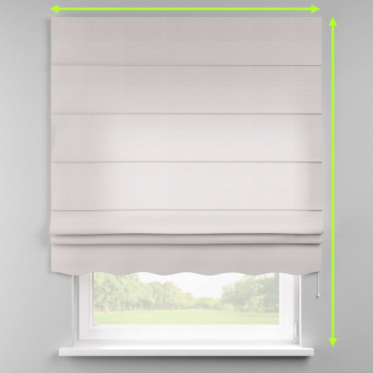 Florence roman blind  in collection Rustica, fabric: 140-28