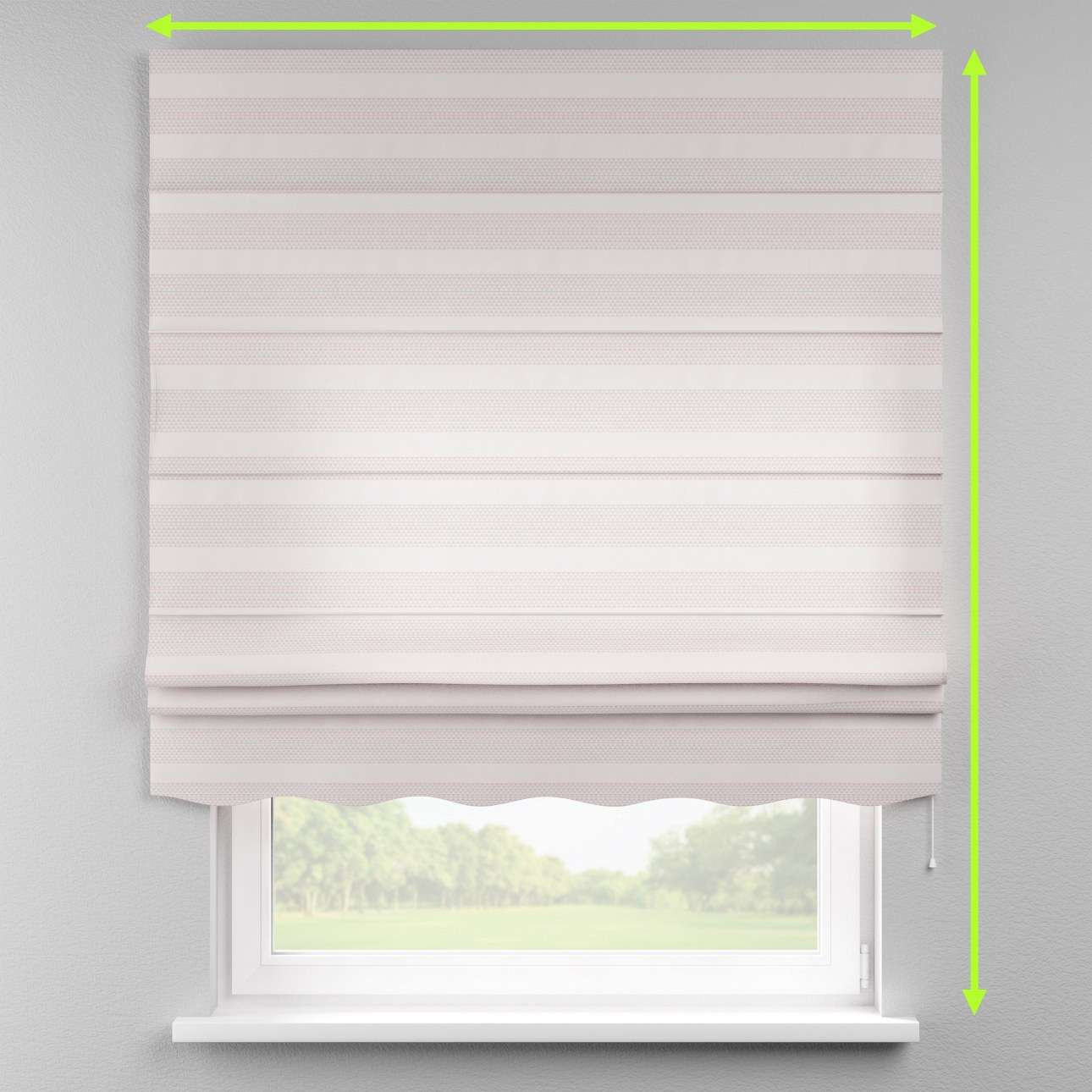 Florence roman blind  in collection Rustica, fabric: 140-29