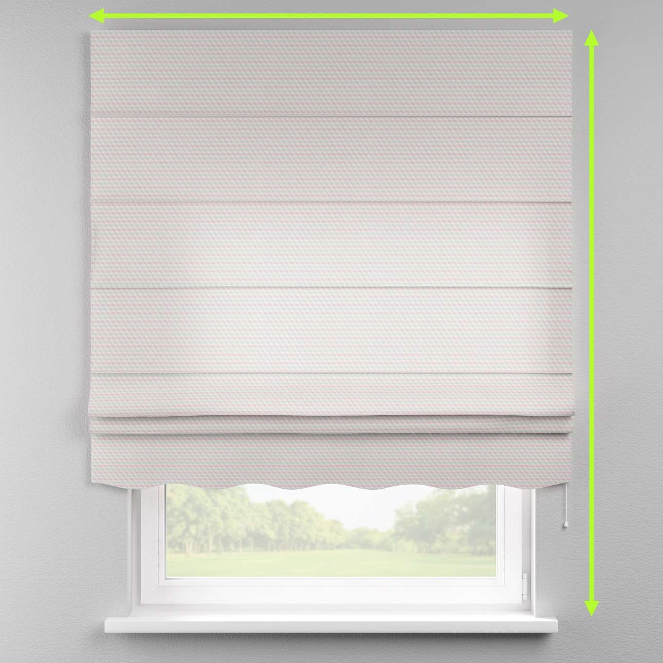 Florence roman blind  in collection Rustica, fabric: 140-30