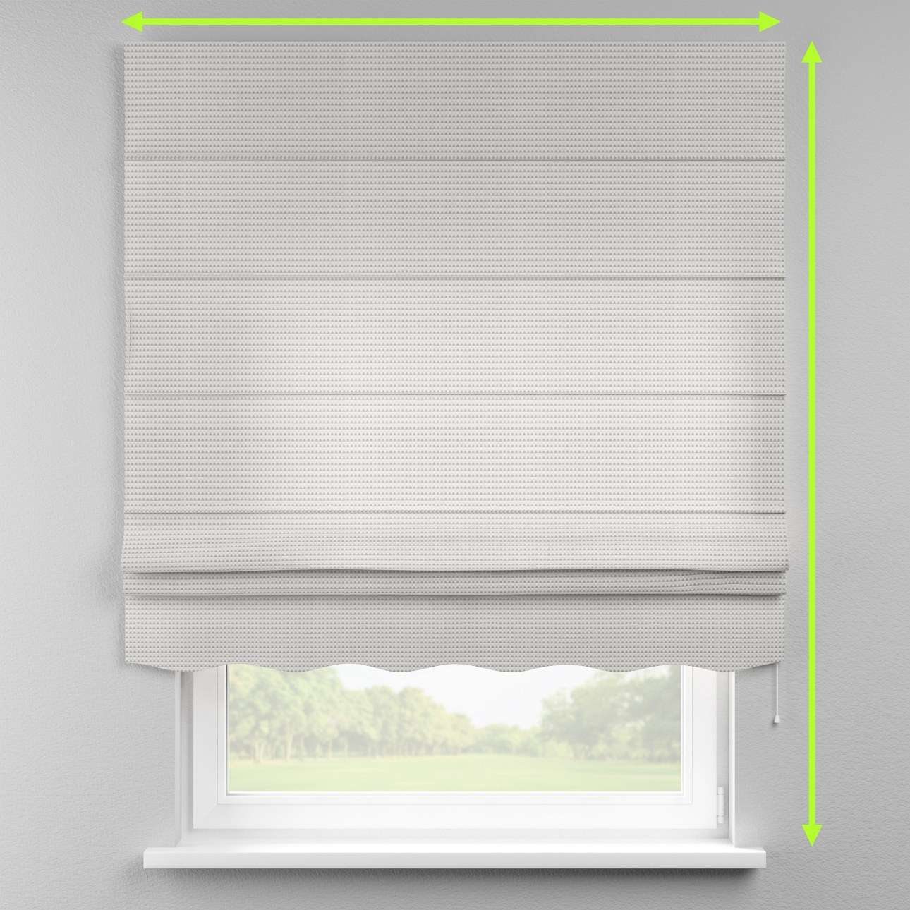 Florence roman blind  in collection Rustica, fabric: 140-31