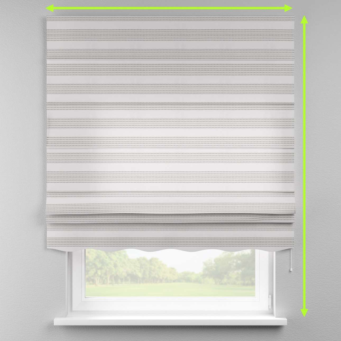 Florence roman blind  in collection Rustica, fabric: 140-32