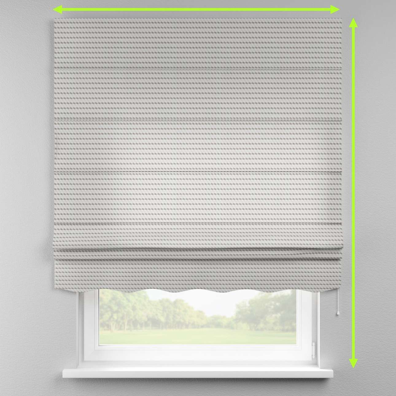 Florence roman blind  in collection Rustica, fabric: 140-33