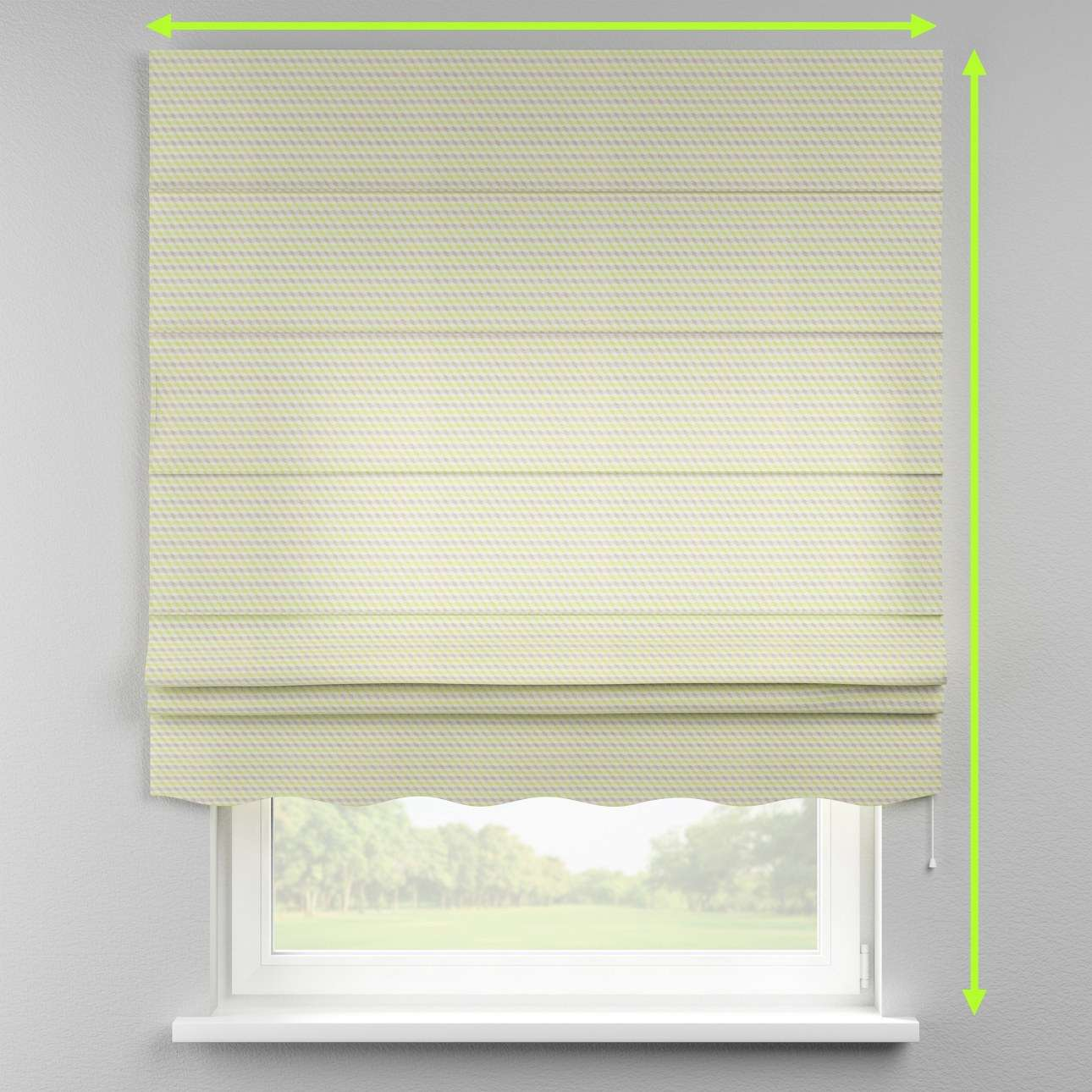 Florence roman blind  in collection Rustica, fabric: 140-36