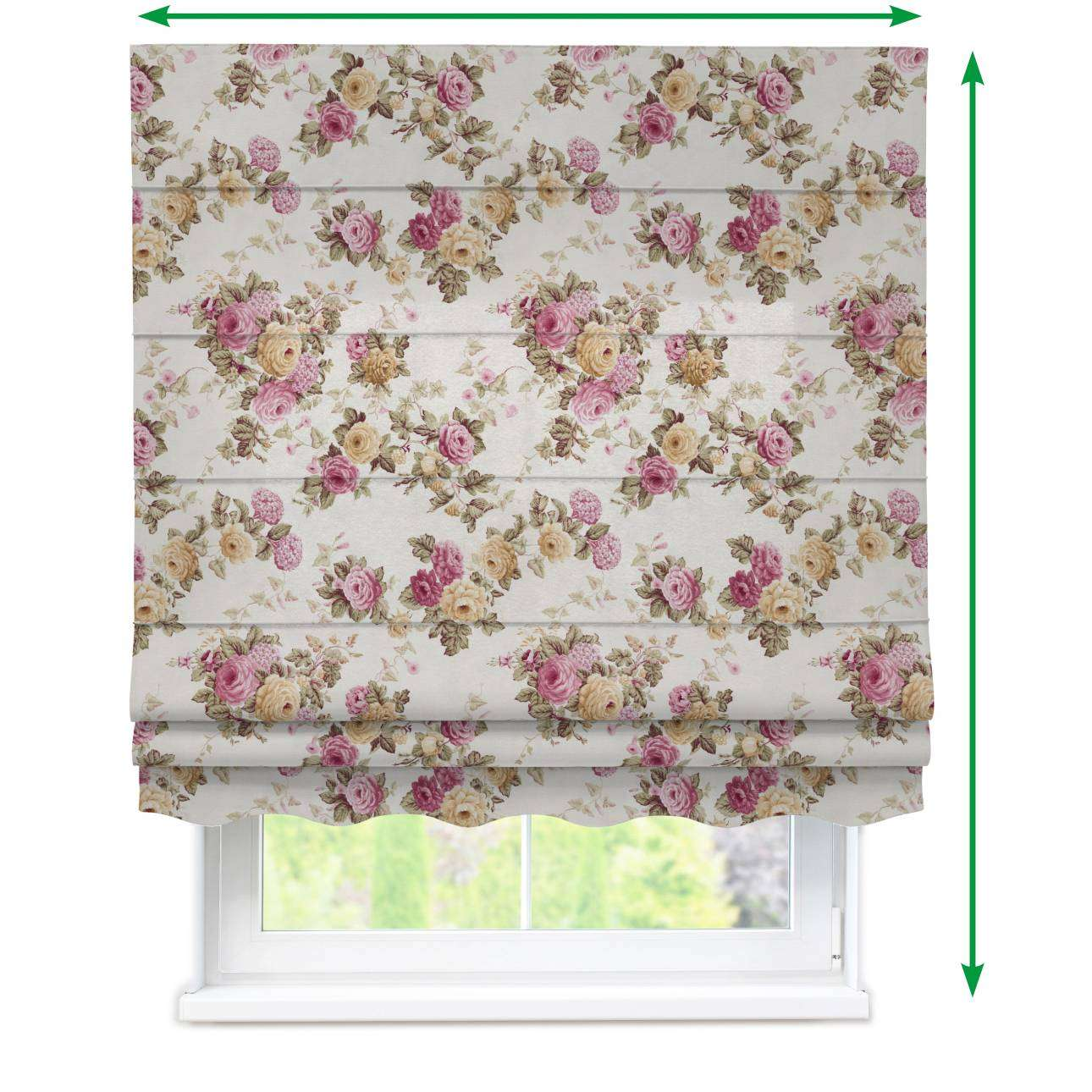 Florence roman blind  in collection Mirella, fabric: 140-40