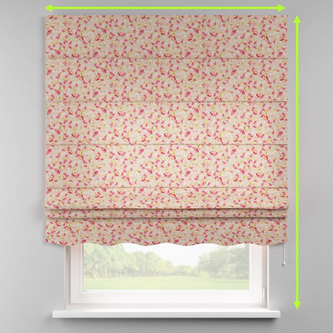 Florence roman blind  in collection Londres, fabric: 140-47