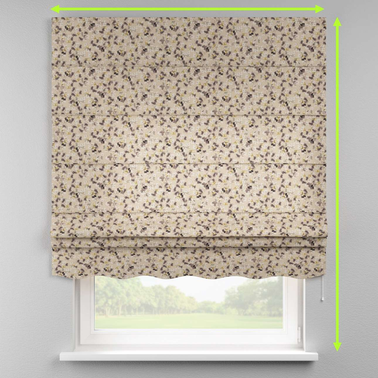 Florence roman blind  in collection Londres, fabric: 140-48