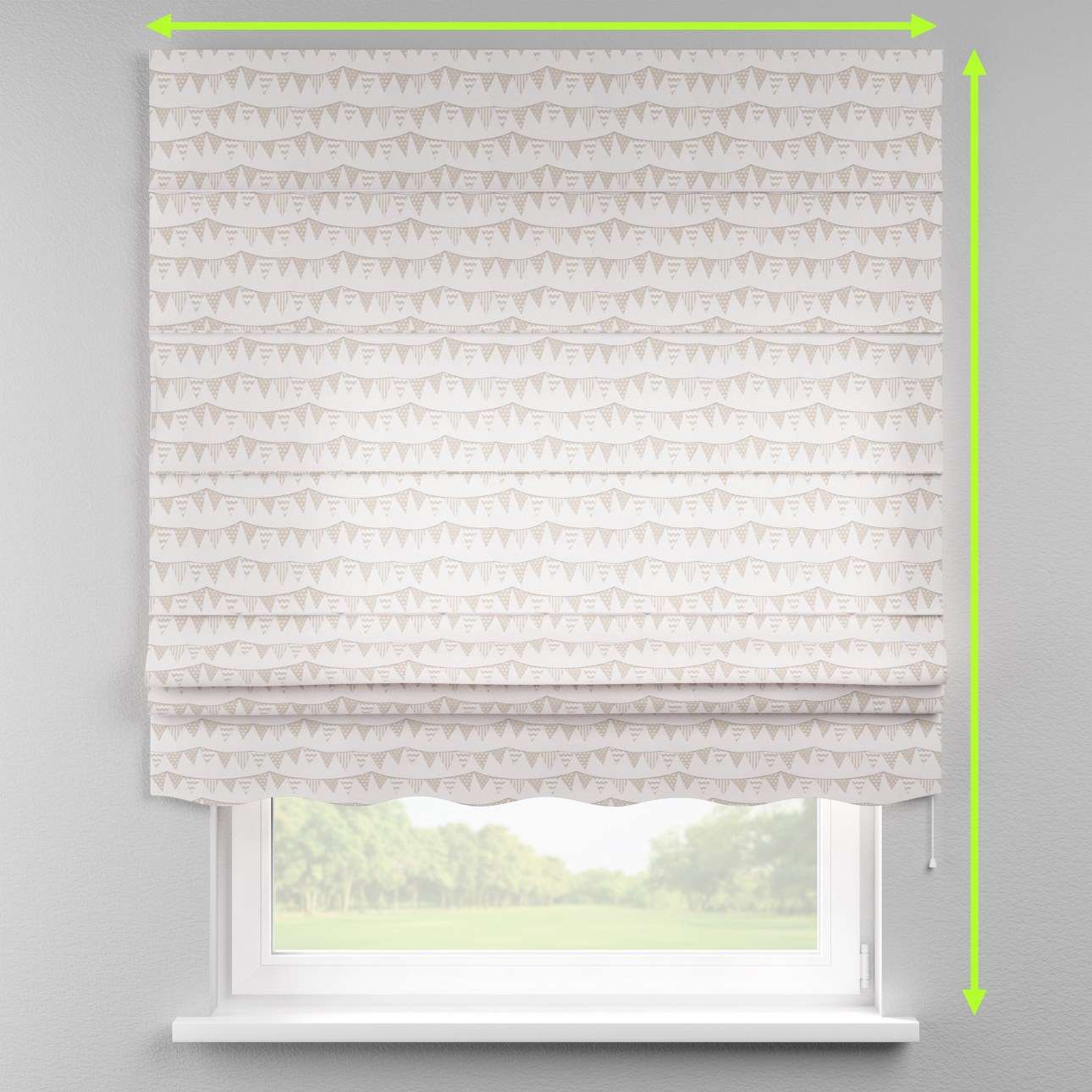 Florence roman blind  in collection Marina, fabric: 140-65