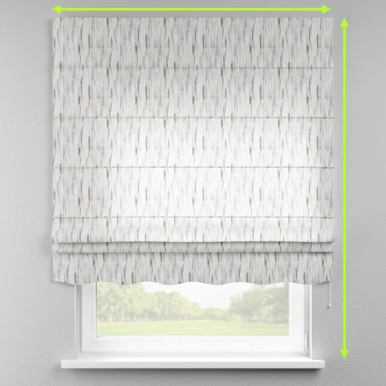 Florence roman blind  in collection Aquarelle, fabric: 140-66