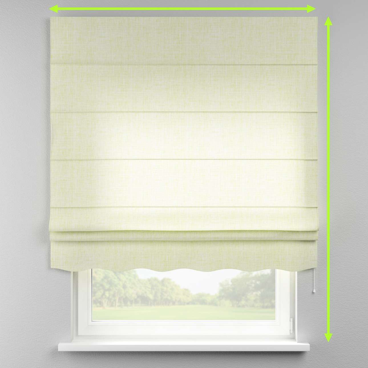 Florence roman blind  in collection Aquarelle, fabric: 140-73