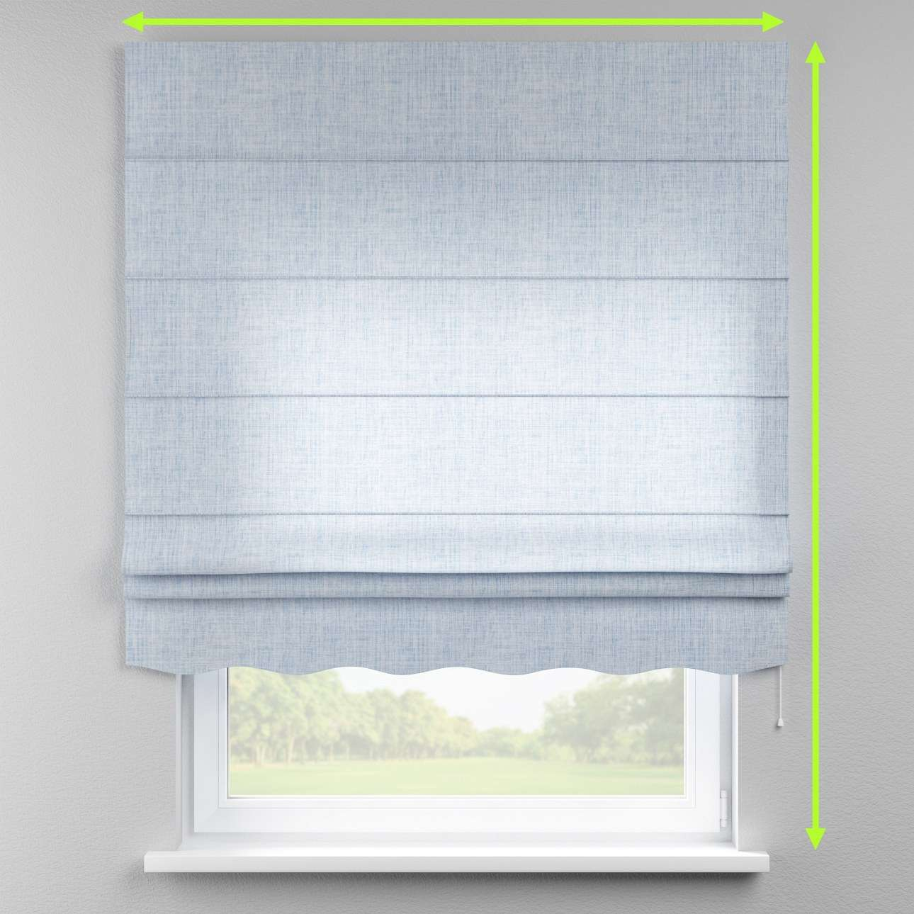 Florence roman blind  in collection Aquarelle, fabric: 140-74