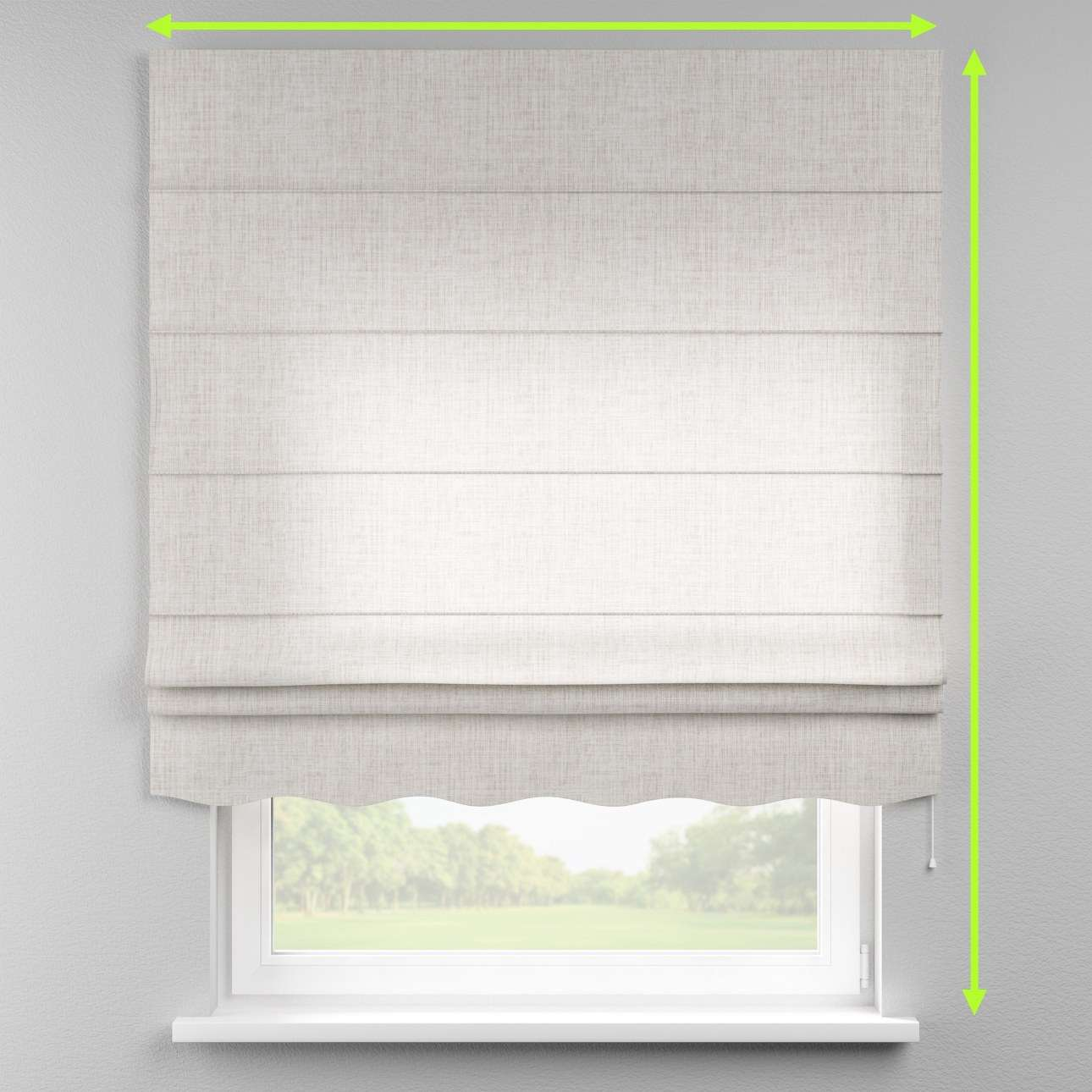 Florence roman blind  in collection Aquarelle, fabric: 140-75