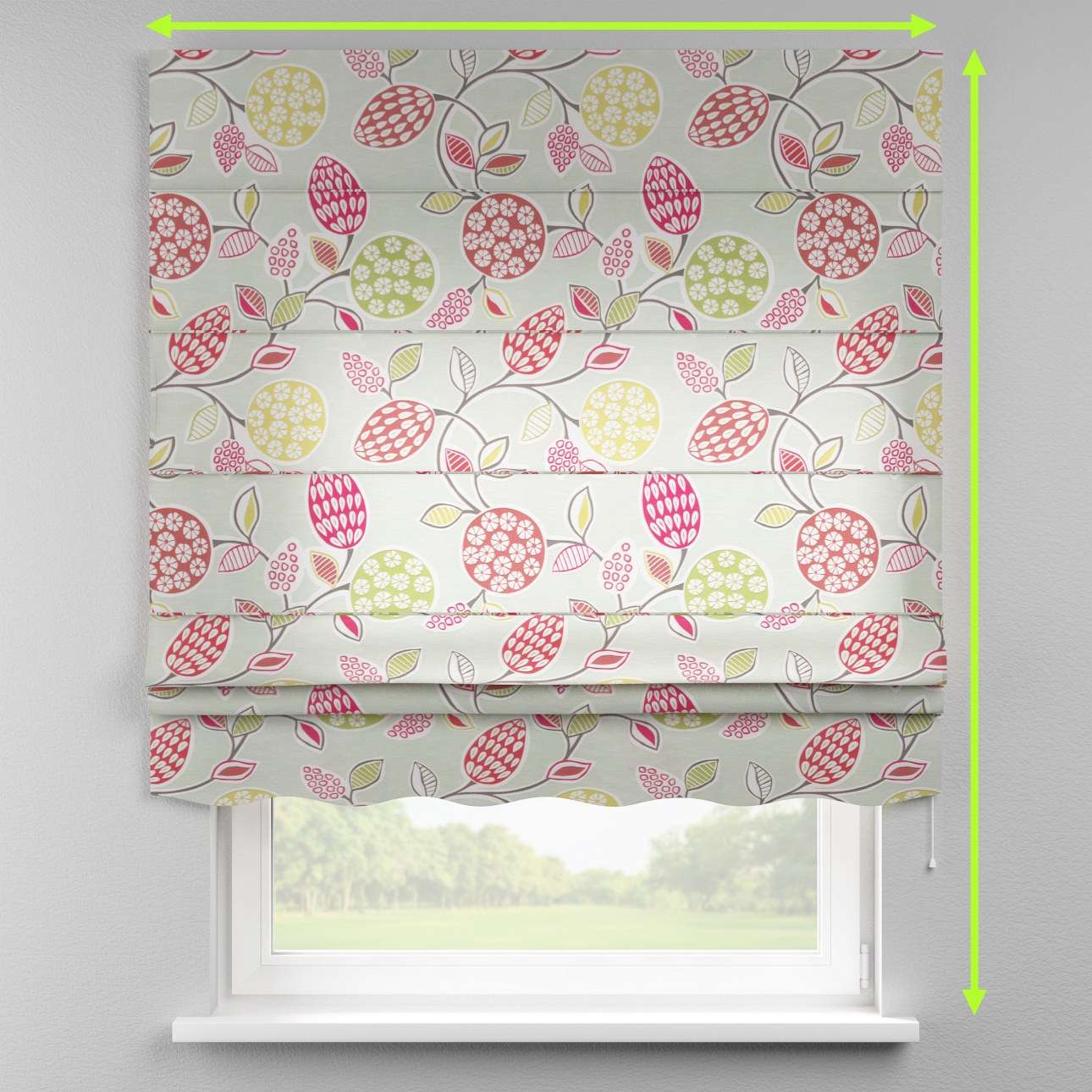 Florence roman blind  in collection Norge, fabric: 140-78