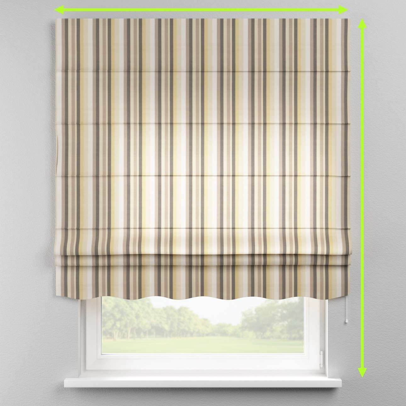 Florence roman blind  in collection Norge, fabric: 140-80