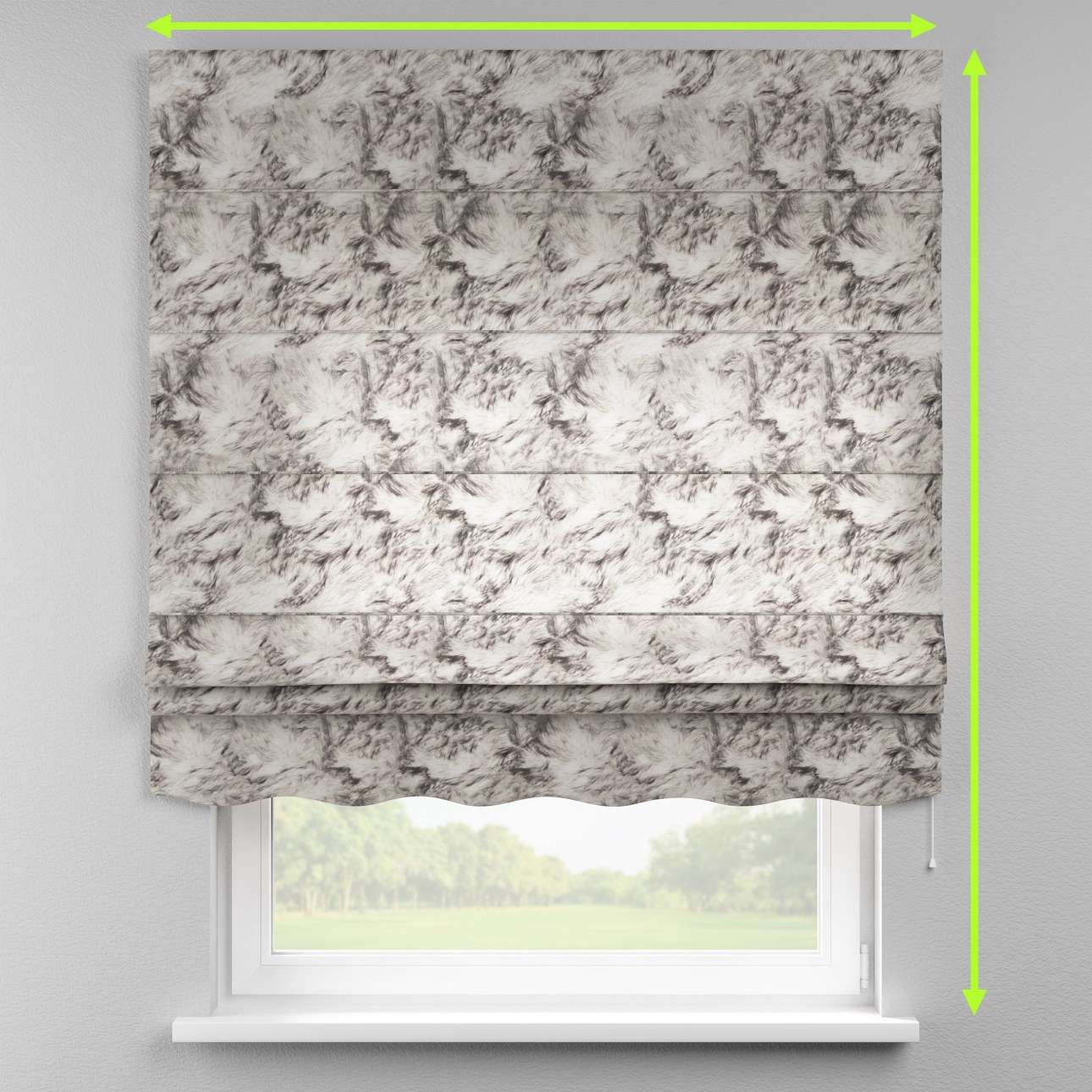 Florence roman blind  in collection Norge, fabric: 140-82
