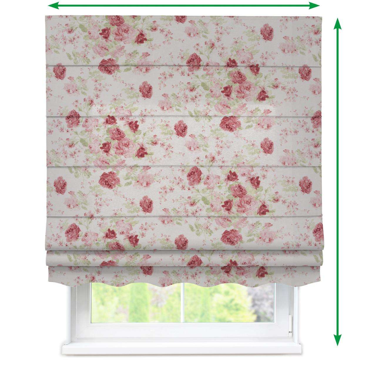 Florence roman blind  in collection Flowers, fabric: 140-90