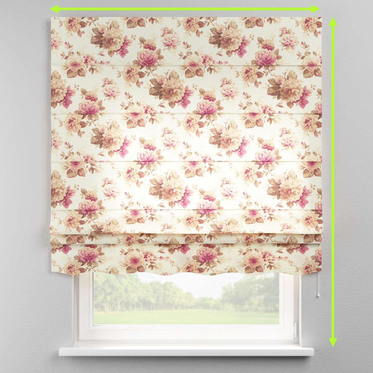 Florence roman blind  in collection Mirella, fabric: 141-06