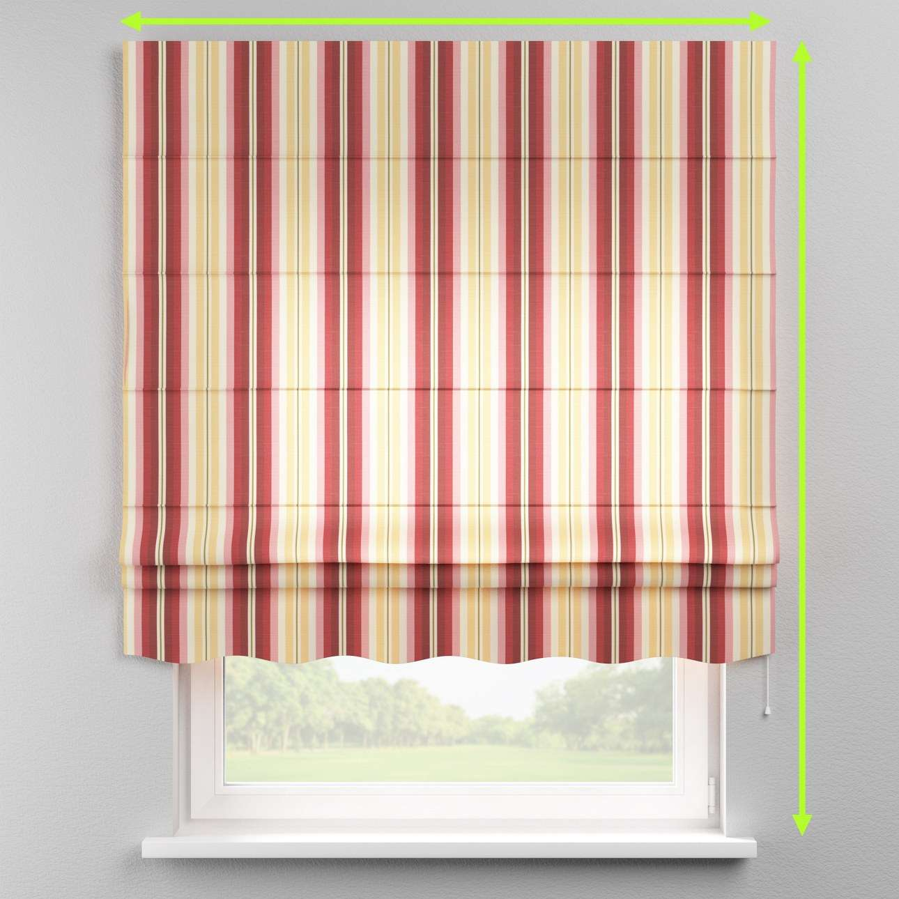 Florence roman blind  in collection Mirella, fabric: 141-12