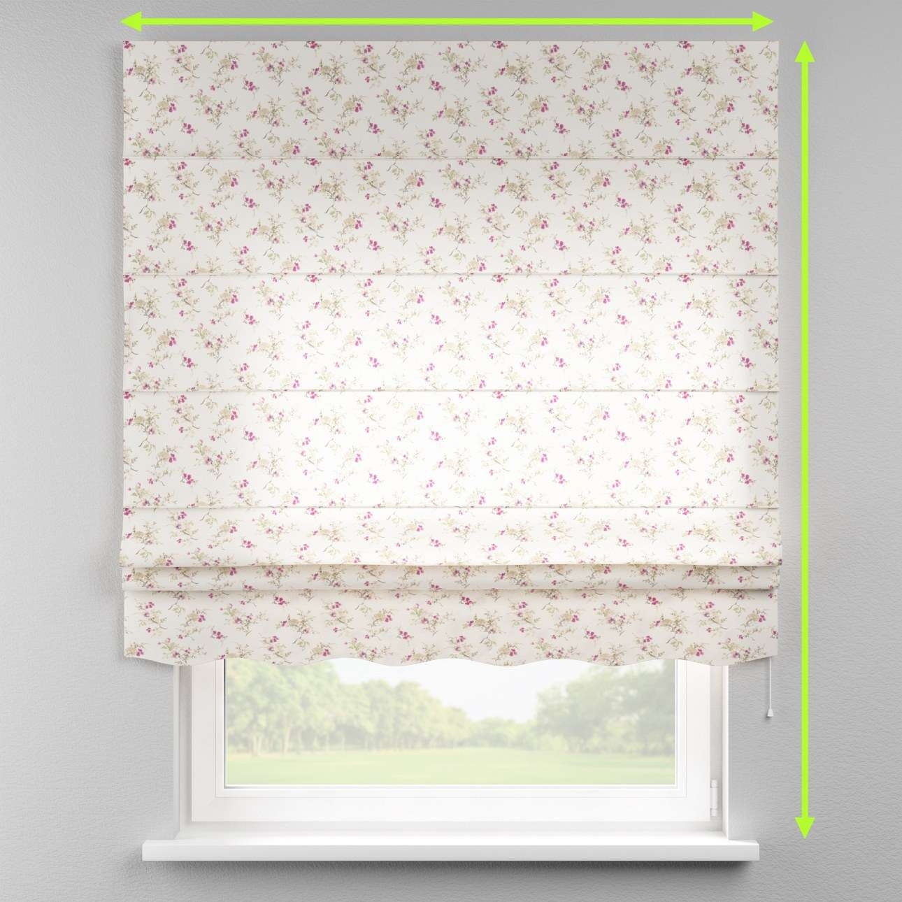 Florence roman blind  in collection Mirella, fabric: 141-13