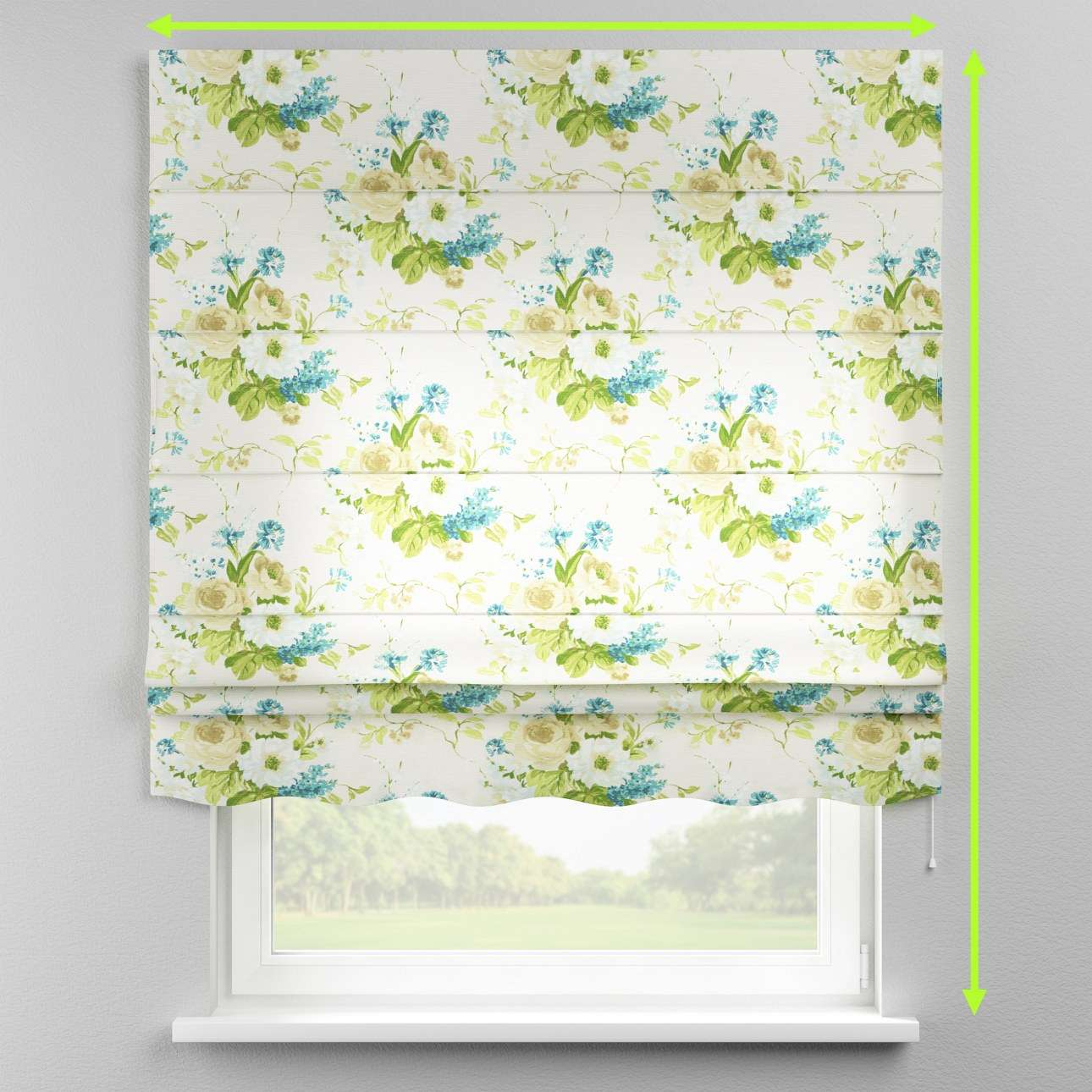 Florence roman blind  in collection Mirella, fabric: 141-15