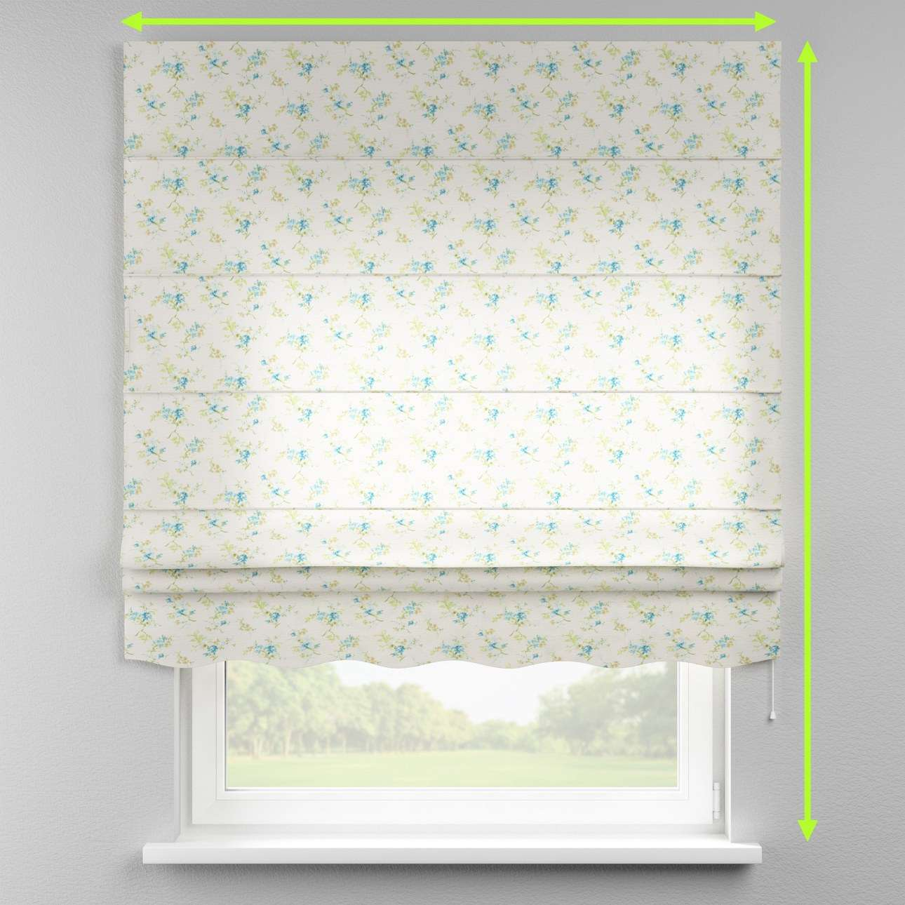 Florence roman blind  in collection Mirella, fabric: 141-16
