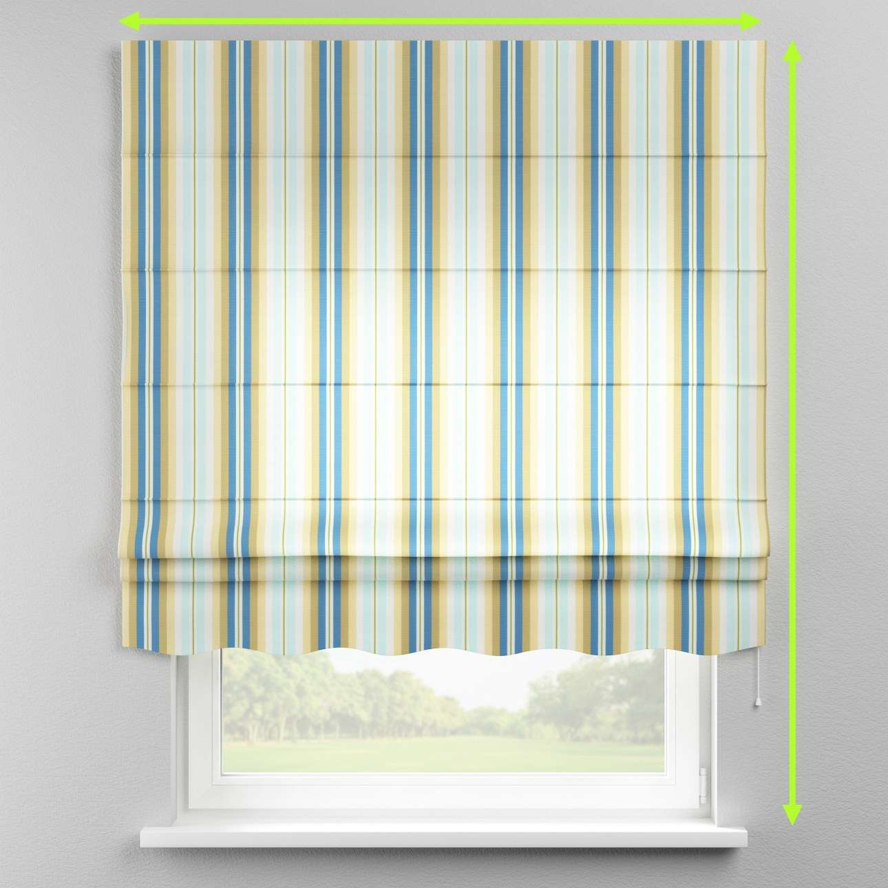Florence roman blind  in collection Mirella, fabric: 141-17