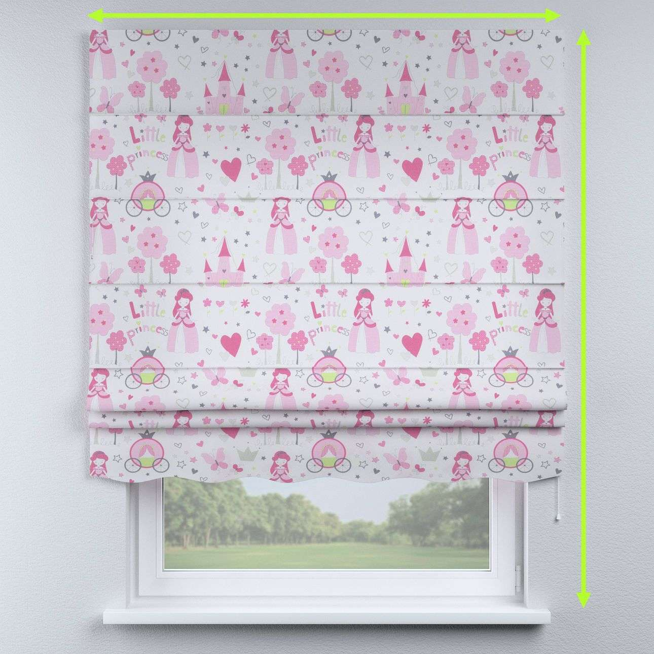 Florence roman blind  in collection Little World, fabric: 141-28