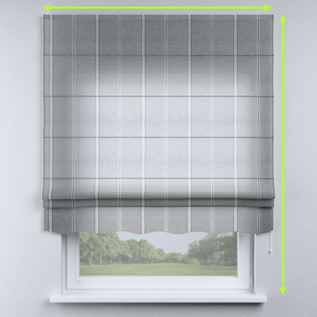 Florence roman blind  in collection Romantica, fabric: 141-31